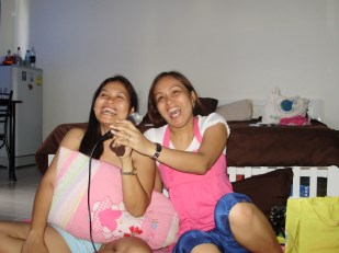 The happiest moment I had with my cousin before she flew to Europe for good with her family