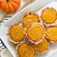 Pumpkin Cornbread Muffins (with Vegan Option)