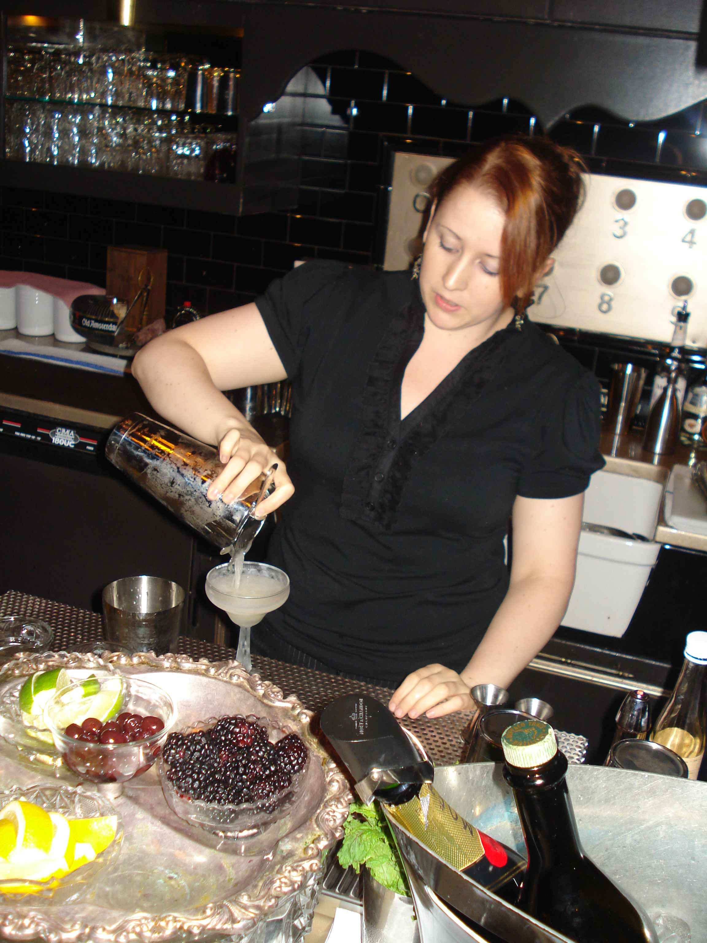 Meaghan Dorman, head bartender at Raines Law Room and founding member of LUPEC NYC