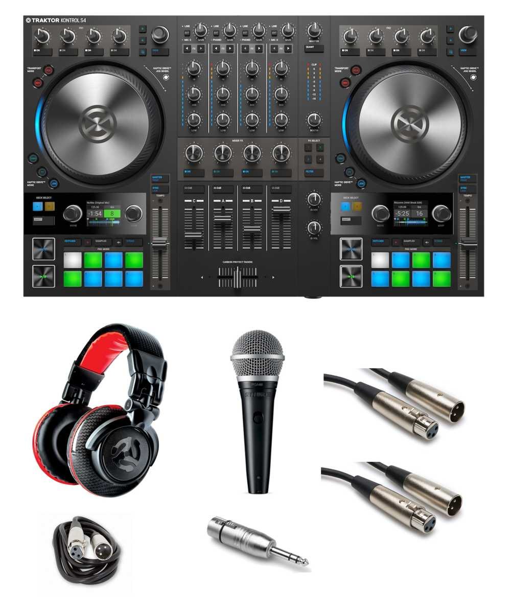 medium resolution of native instruments traktor kontrol s4 mk3 gig ready bundle the dj hookup