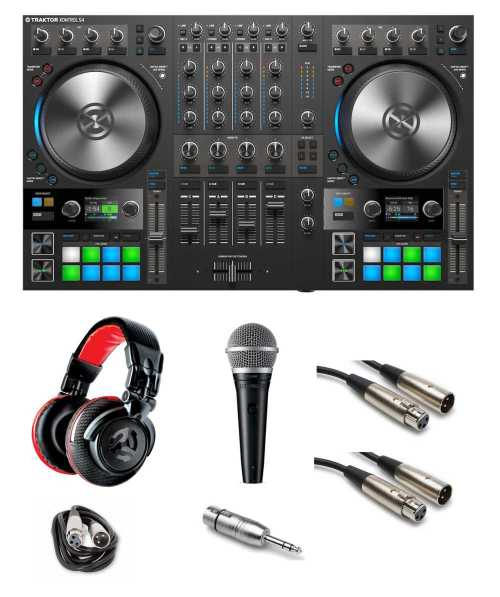 small resolution of native instruments traktor kontrol s4 mk3 gig ready bundle the dj hookup