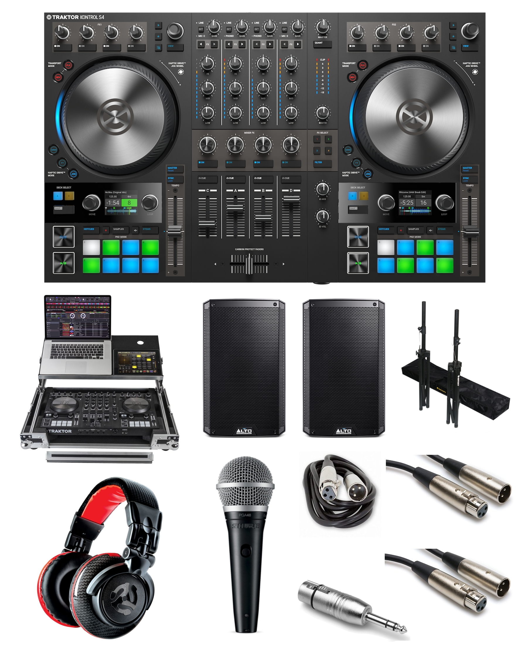 hight resolution of native instruments traktor kontrol s4 mk3 party rocker bundle the dj hookup