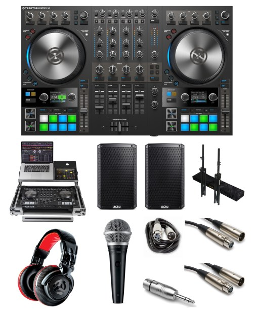 small resolution of native instruments traktor kontrol s4 mk3 party rocker bundle the dj hookup