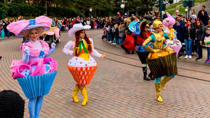 Disneyland Paris Cupcakes