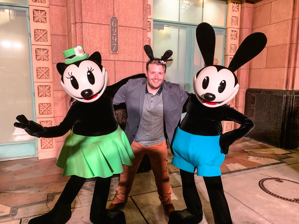 Oswald and Ortensia at Disney Loves Jazz Soiree