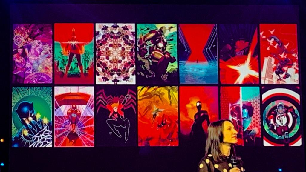 Hotel New York - The Art of Marvel room art