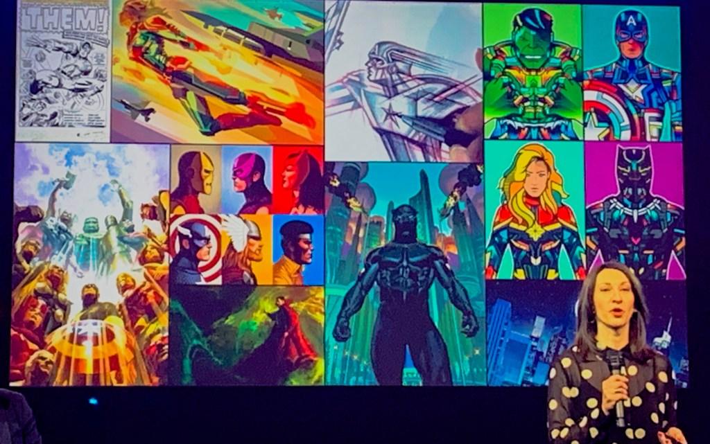 Hotel New York - The Art of Marvel lobby