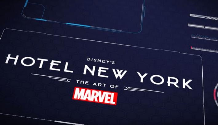 Hotel New York - The Art of Marvel visual