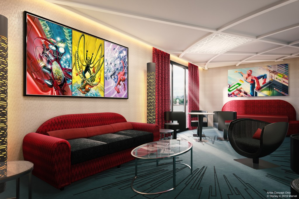 Hotel New York - The Art of Marvel suites 1