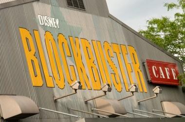 Blockbuster cafe closes