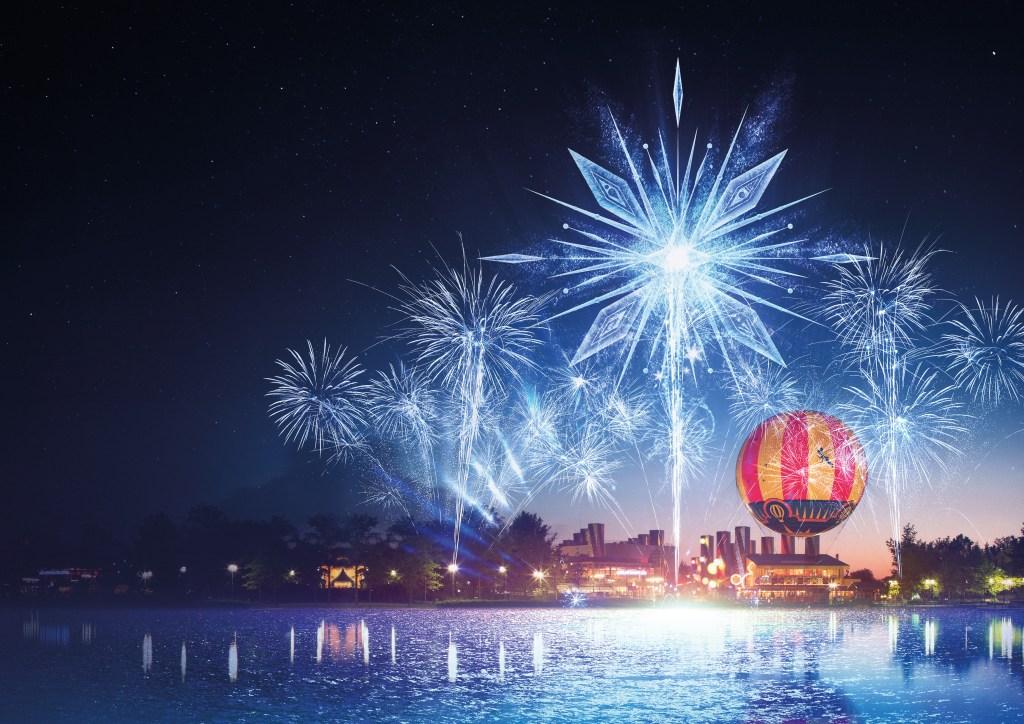 Magic Over Lake Disney