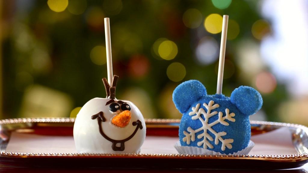 Frozen Celebration treats