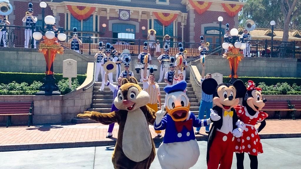 Disneyland Resort Main Street Band