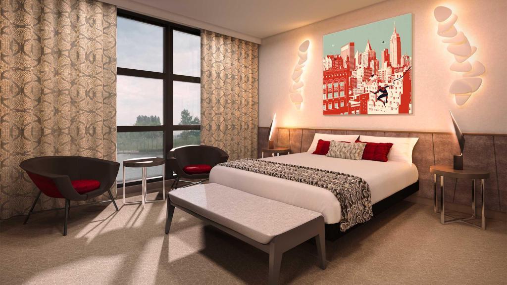 Super Heroes Suite Bedroom