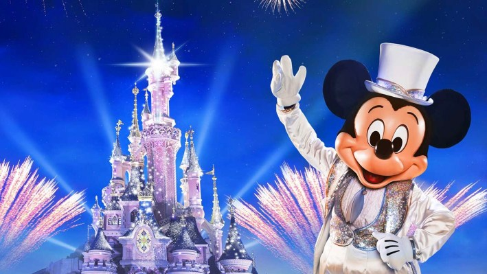 Disneyland Paris New Year's Eve 2019