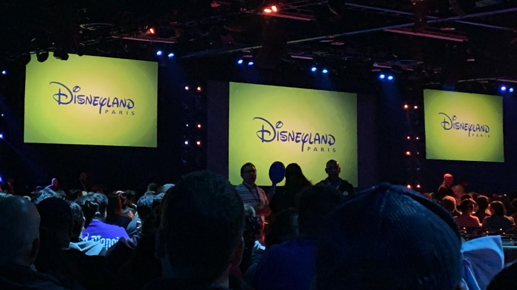 Disneyland Paris appearing at the Disney Parks panel at D23