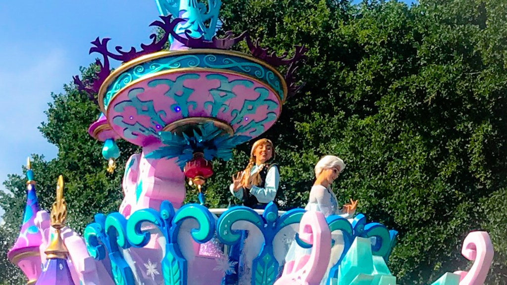 Will Frozen feature in the new parades, after already being a key moment in Disney's Stars on Parade?