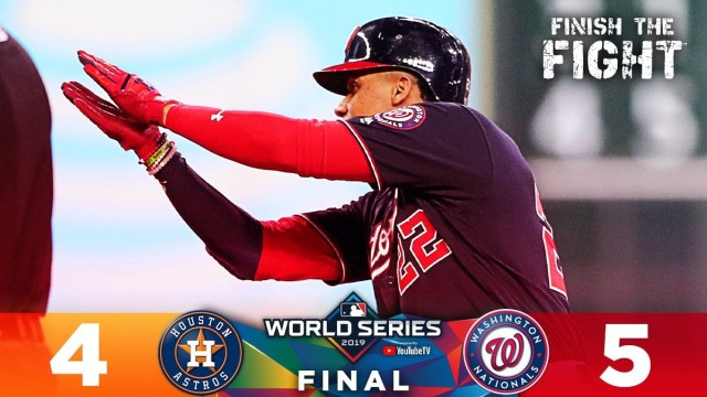 Washington Nationals win Game 1 of the World Series