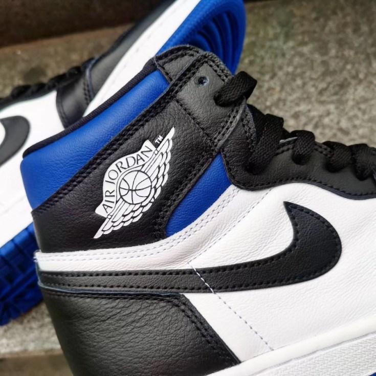 Cop Or Not The Air Jordan 1 Royal Toe The Dmv Daily