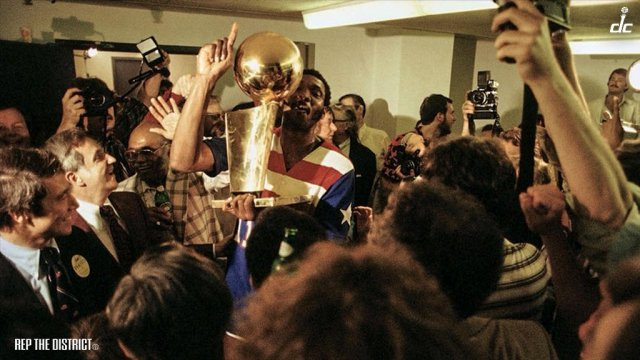 On this day in 1978, the Washington Bullets win the NBA Championship