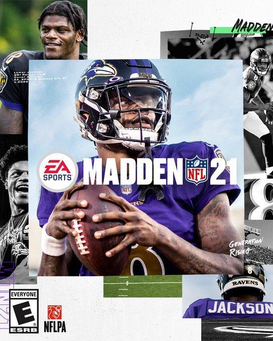EA Sports Reveals Madden 21 Cover Featuring Ravens Lamar Jackson