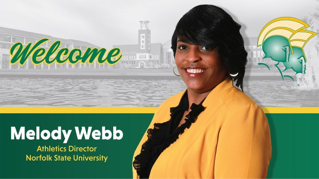 Norfolk State Hires First Woman Athletic Director Melody Webb
