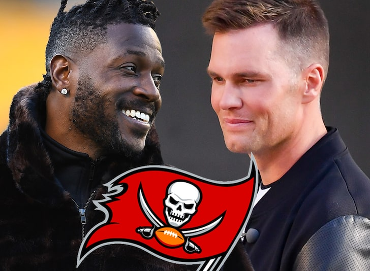 Antonio Brown Officially Signs With Tampa Bay Buccaneers