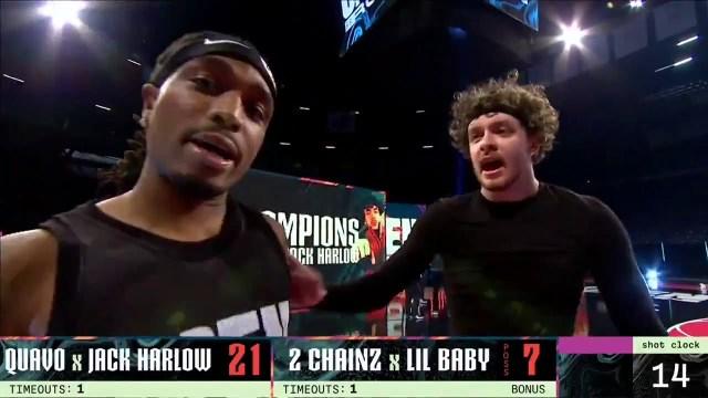 Jack Harlow & Quavo Vs. Lil Baby & 2 Chainz (All-Star 2 V 2)