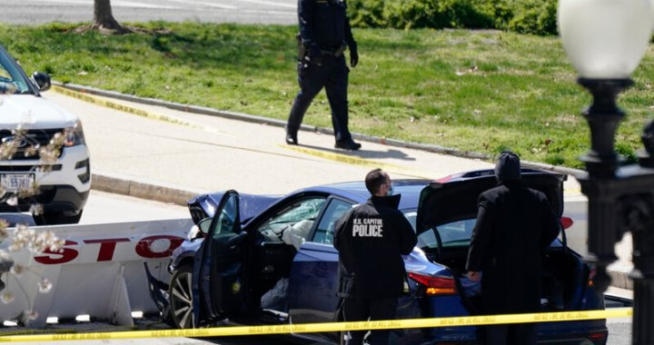 Attack on U.S. Capitol Leaves One Officer Dead, Another Injured