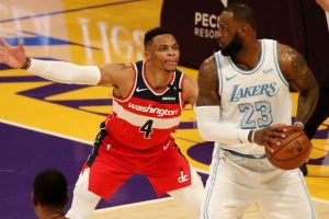Washington Wizards Trade Russell Westbrook to Los Angeles Lakers