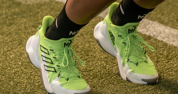 Patrick Mahomes Unveils First Signature Shoe With Adidas