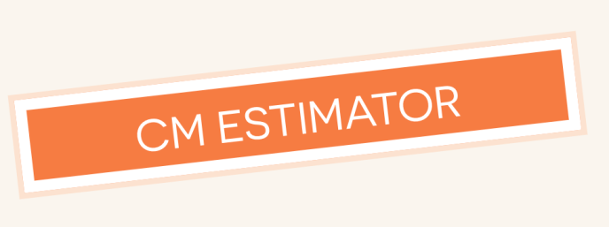 "Logo for the tool reading ""centimorgan estimator""."