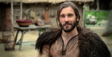 Rollo played by the British actor Steve Claven in History Channel's TV series Vikings.