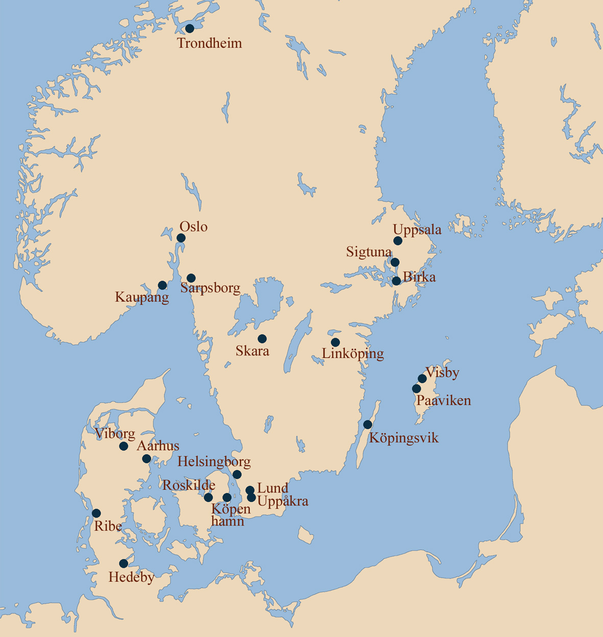 Commerce And Key Markets In Scandinavia During The Viking Era