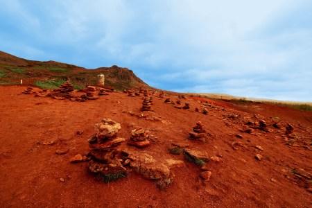 Mars-like Icelandic landscape