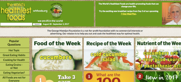 Best Nutrition and Health Websites   The Doc's Kitchen