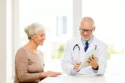 Doctor having discussion with patient
