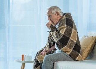 Older man with blanket flu 1500 x 1001