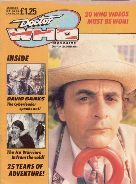doctor who magazine 137