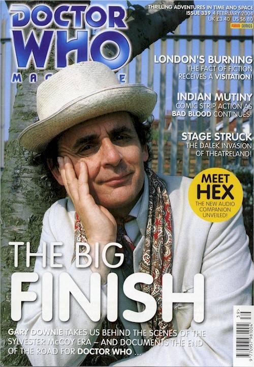 doctor who magazine 331