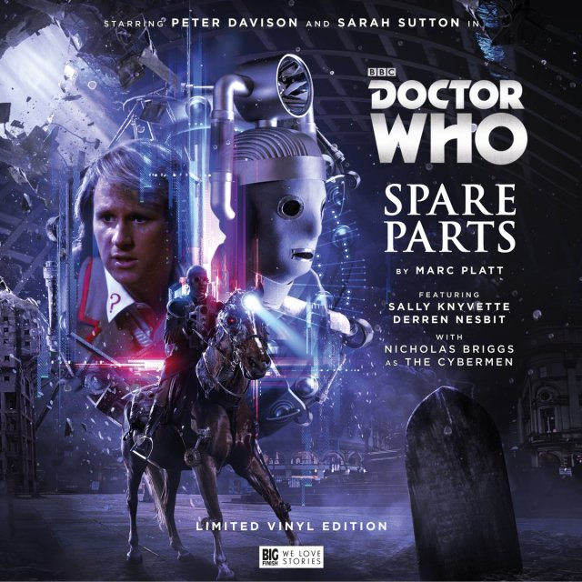 Spare Parts LP vinyl Big Finish