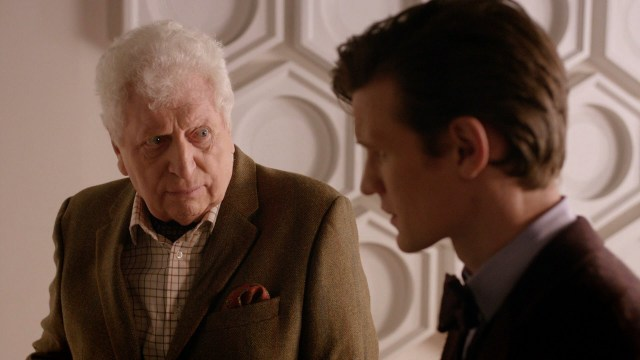 Day of the Doctor Tom Baker Curator