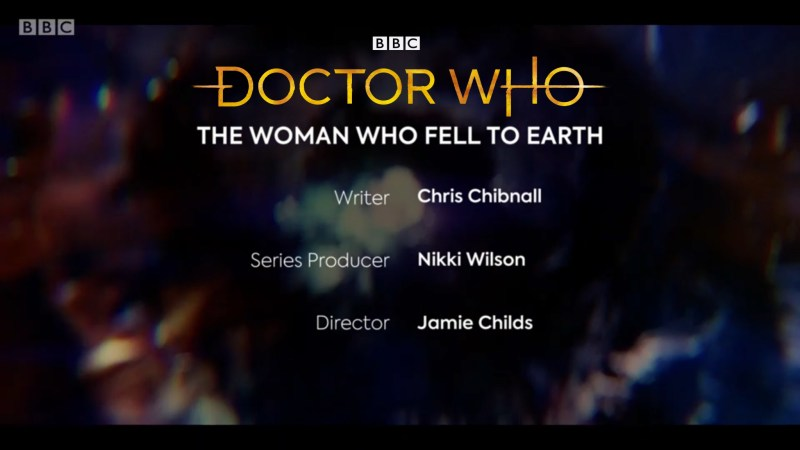 The Problem with the Absences of the Doctor Who Series 11 Title Sequence