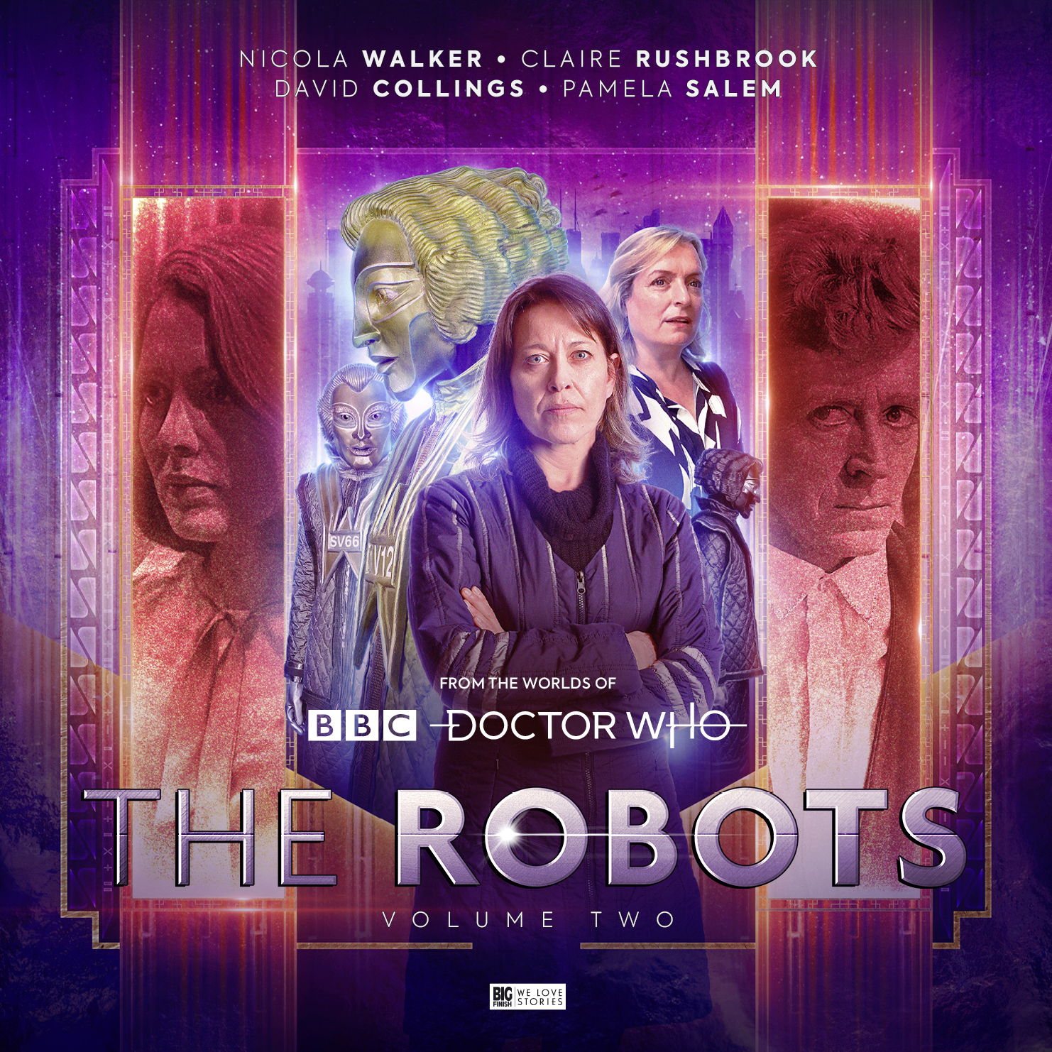 Reviewed: Big Finish's The Robots – Volume 2