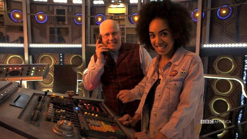 Bill Potts and Nardole Return (Sort Of) In Support of the NHS