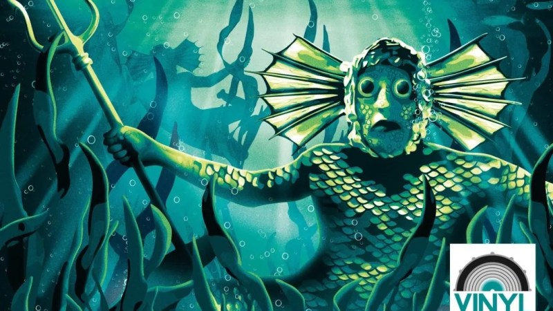 Coming Soon: The Underwater Menace Gets LP Release in Vinyl Who Range