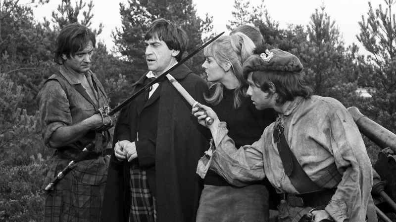 What is The Highlanders Special Feature Listed on The Power of the Daleks Special Edition?