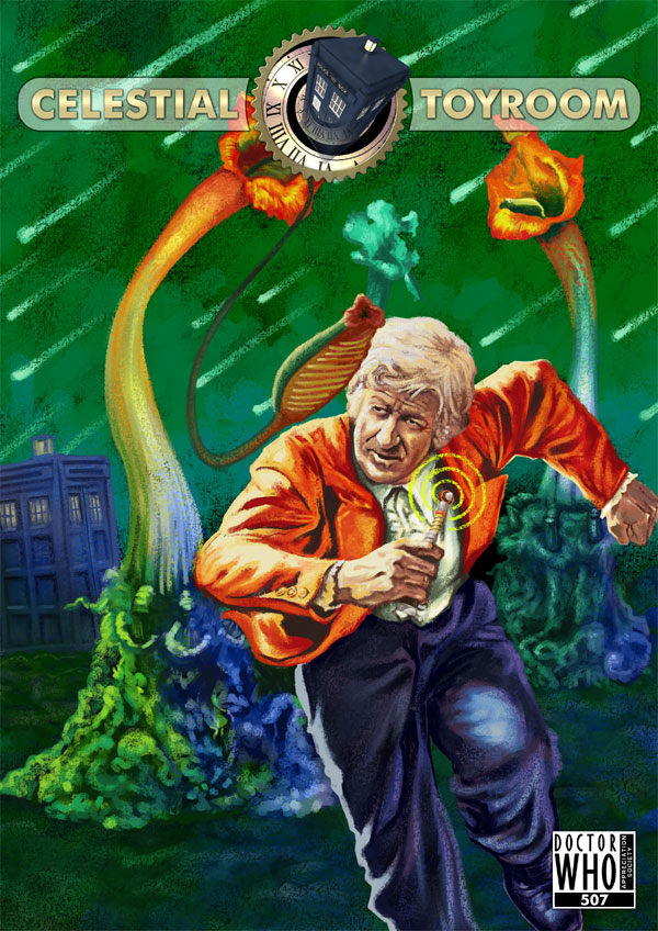 The Latest Issue of DWAS' Celestial Toyroom sees Doctor Who Meet the Triffids