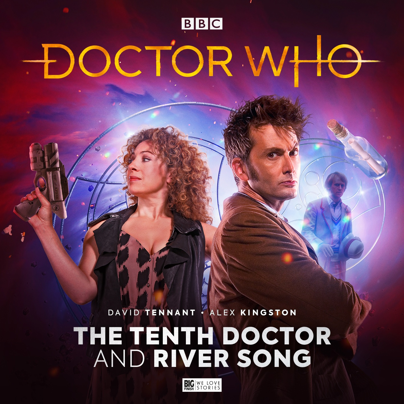 The Tenth Doctor and River Song Reunite for New Audio Boxset from Big Finish!