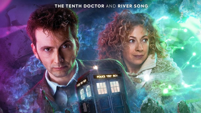 Covers Revealed for Big Finish's Tenth Doctor and River Song Adventures
